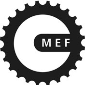MEF-hjulet_sort